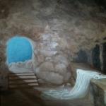 Schilderij 1x1m, Innerlijk Pasen